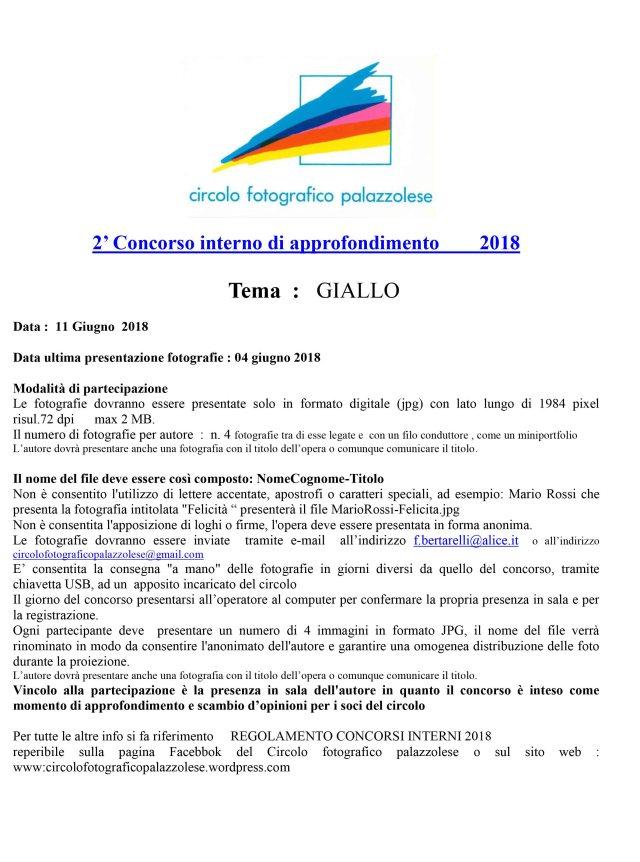 2 concorso interno 2018